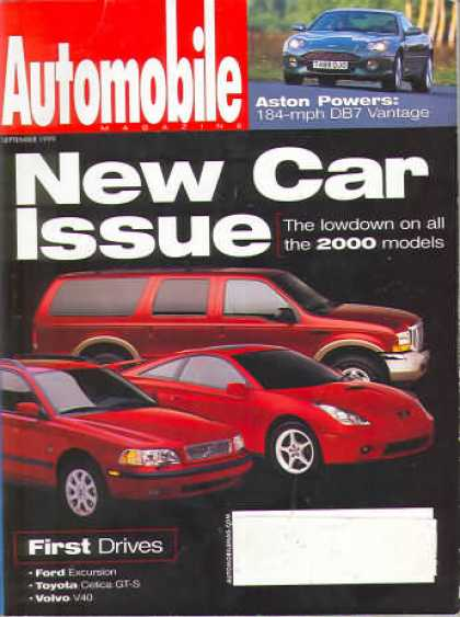 Automobile - September 1999