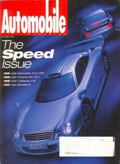 Automobile - October 1999