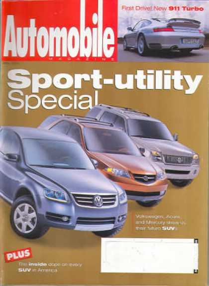 Automobile - April 2000