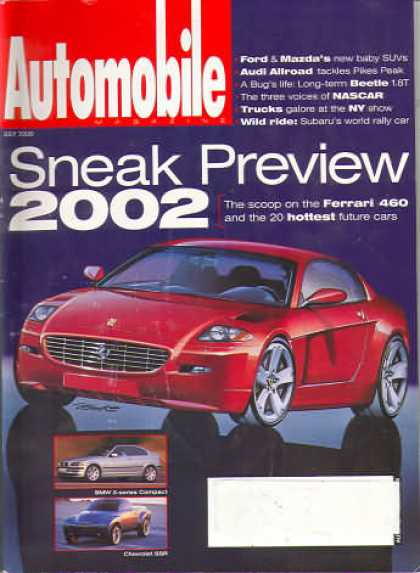 Automobile - July 2000