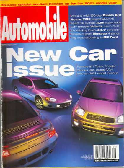 Automobile - September 2000