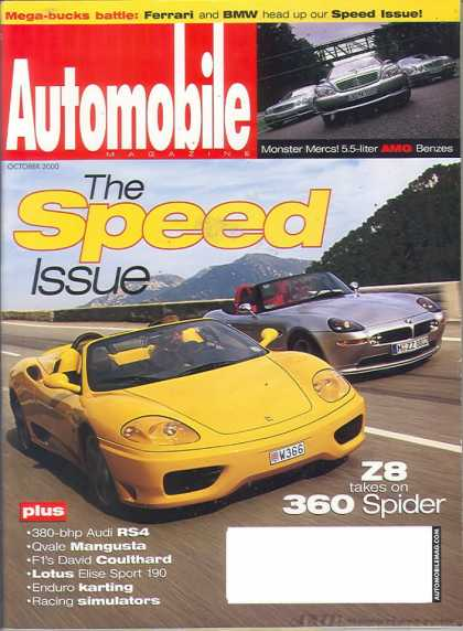 Automobile - October 2000
