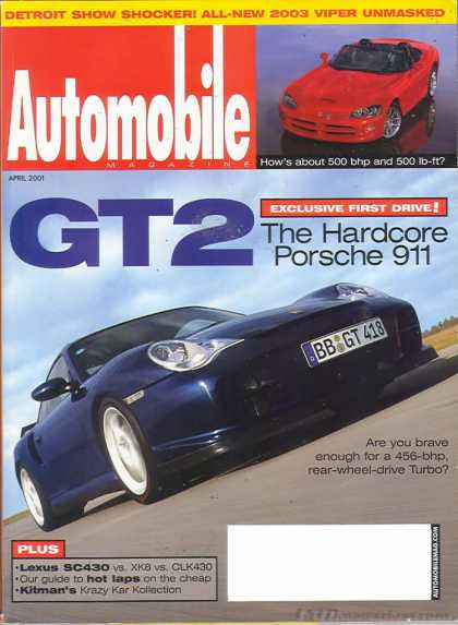 Automobile - April 2001