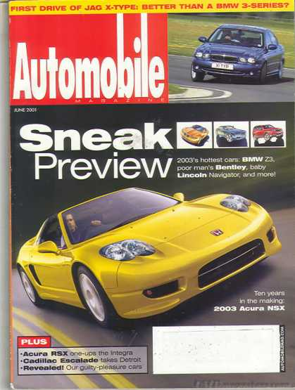 Automobile - June 2001