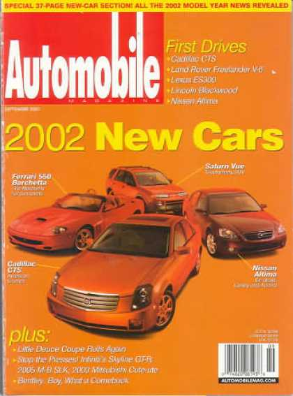 Automobile - September 2001