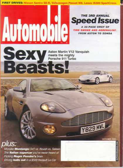 Automobile - October 2001