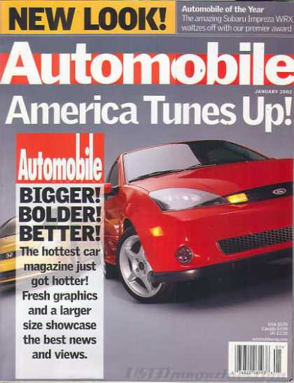 Automobile - January 2002