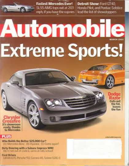 Automobile - March 2002