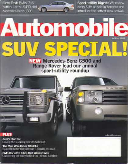 Automobile - April 2002