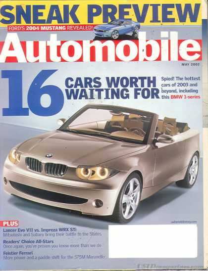 Automobile - May 2002
