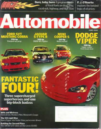 Automobile - June 2002