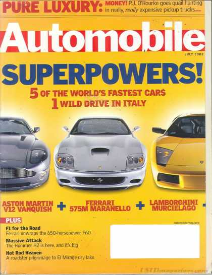 Automobile - July 2002