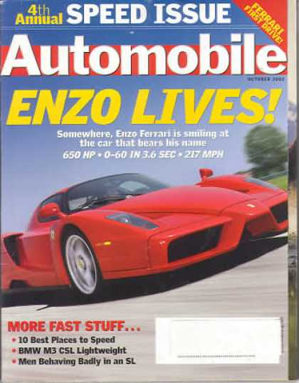 Automobile - October 2002