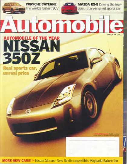 Automobile - January 2003