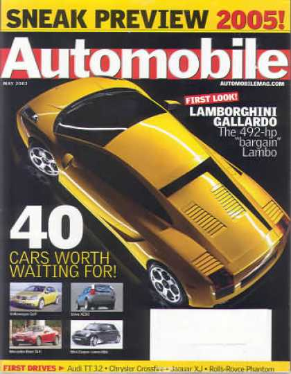 Automobile - May 2003