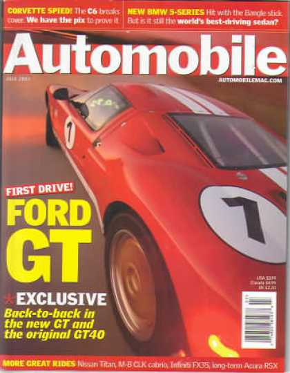 Automobile - July 2003