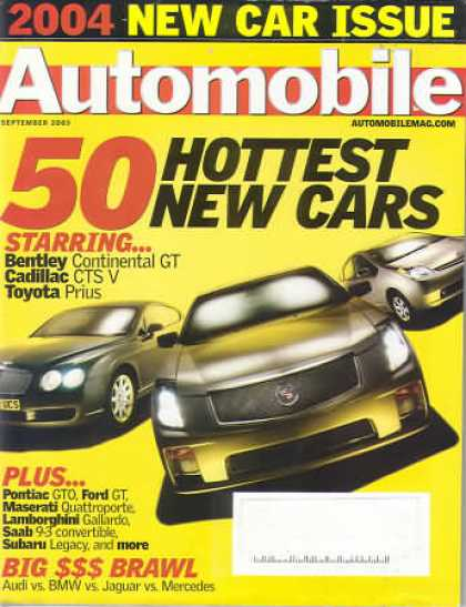 Automobile - September 2003