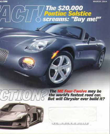 Automobile - March 2004