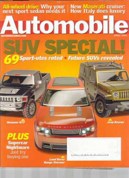 Automobile - April 2004