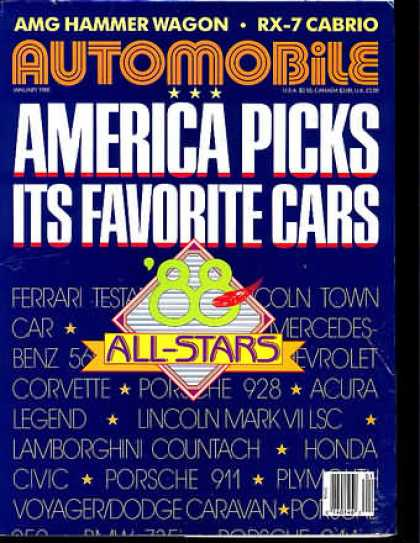 Automobile - January 1988