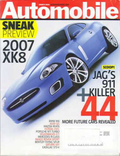 Automobile - March 2005