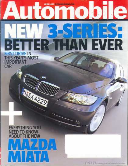 Automobile - April 2005