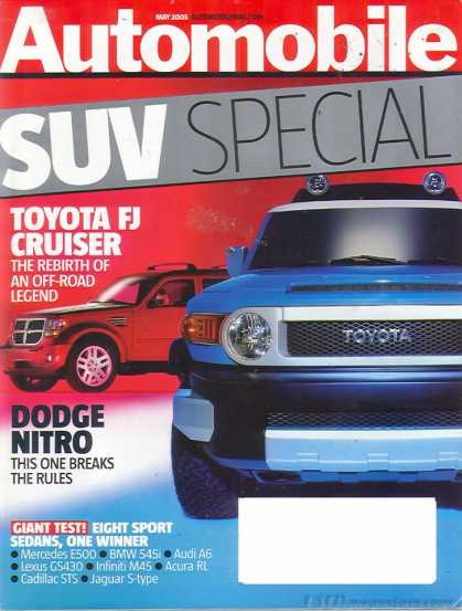 Automobile - May 2005
