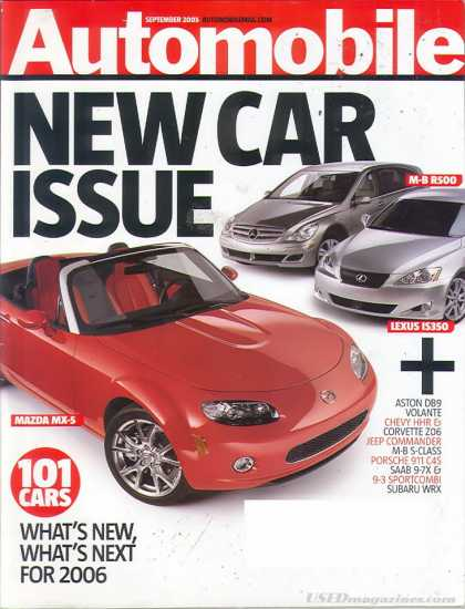 Automobile - September 2005