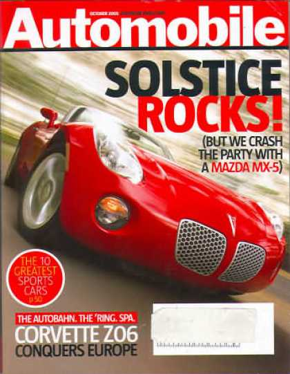 Automobile - October 2005