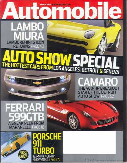 Automobile - March 2006
