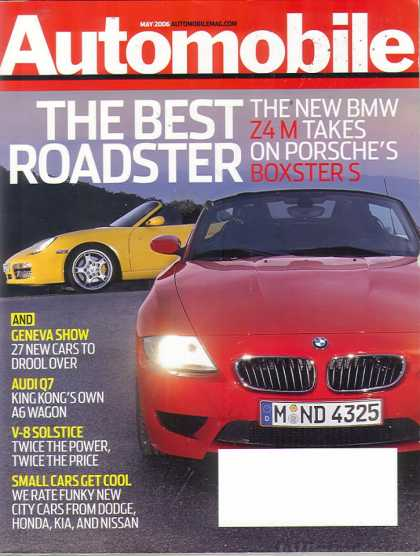 Automobile - May 2006