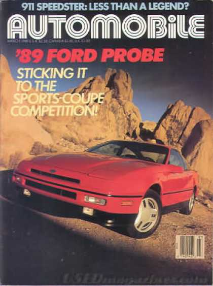 Automobile - March 1988