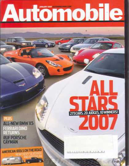 Automobile - January 2007