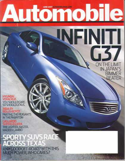 Automobile - June 2007