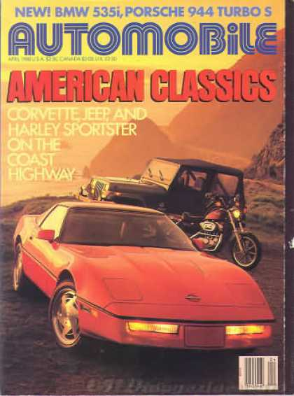 Automobile - April 1988