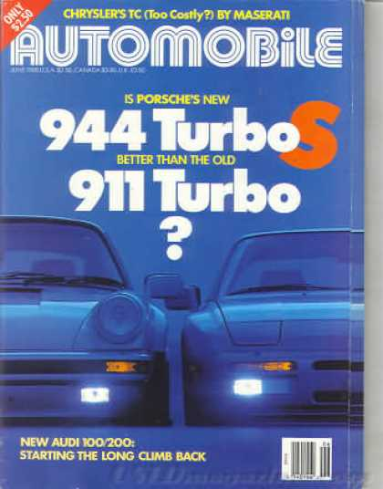 Automobile - June 1988