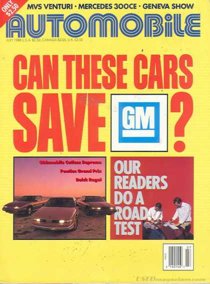 Automobile - July 1988