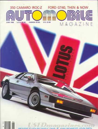 Automobile - June 1986