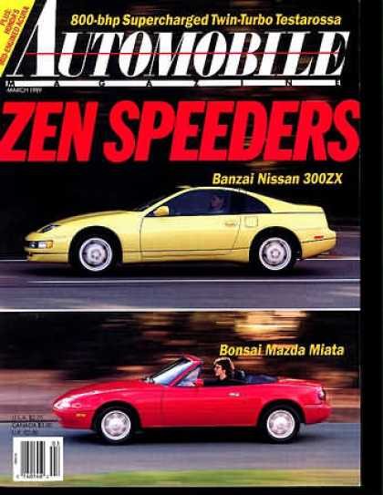 Automobile - March 1989