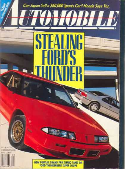Automobile - May 1989