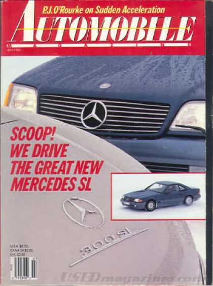 Automobile - July 1989