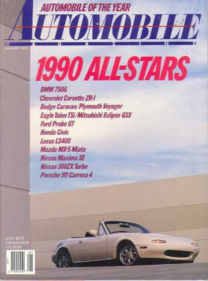 Automobile - January 1990
