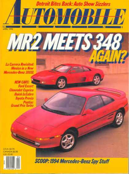 Automobile - April 1990