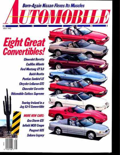 Automobile - May 1990