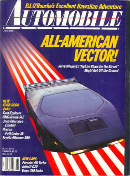 Automobile - June 1990