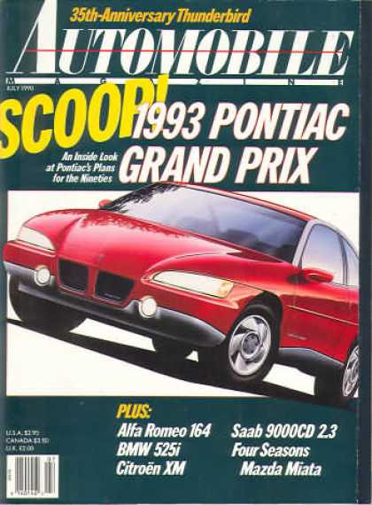 Automobile - July 1990