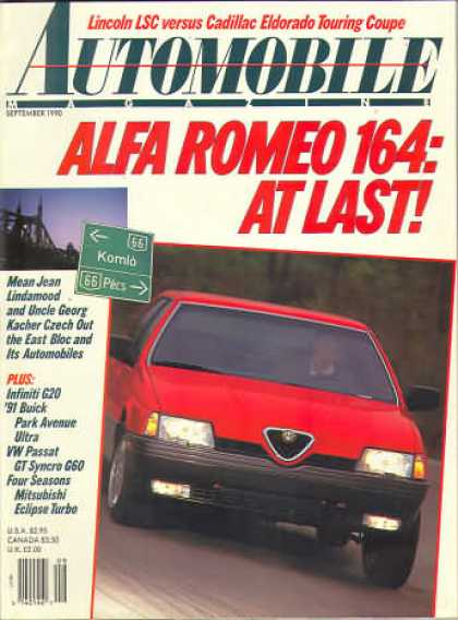 Automobile - September 1990