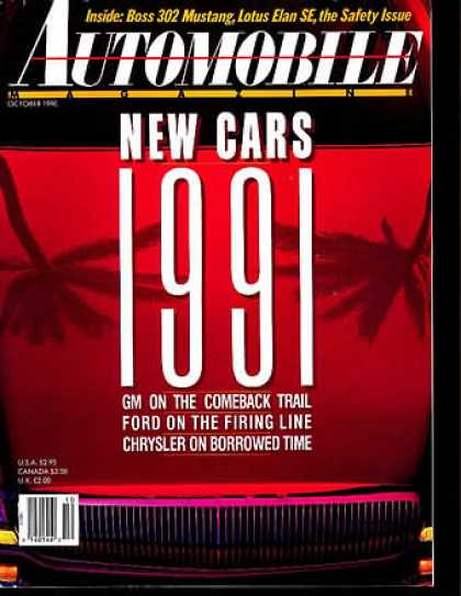 Automobile - October 1990