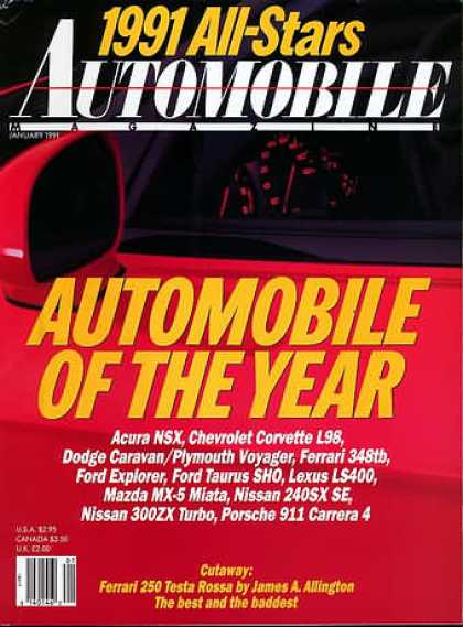 Automobile - January 1991