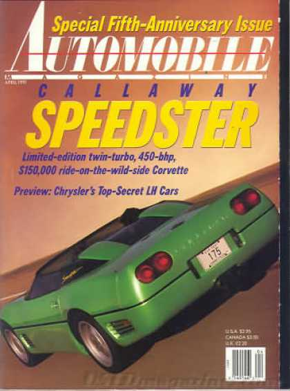 Automobile - April 1991